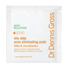 One Step Acne Eliminating Pads | Dr. Dennis Gross | b-glowing