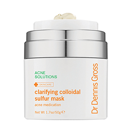 Clarifying Colloidal Sulfur  Mask | Dr. Dennis Gross | b-glowing