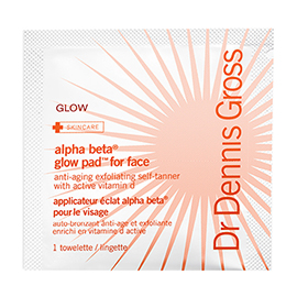 Alpha Beta Glow Pad for Face | Dr. Dennis Gross | b-glowing
