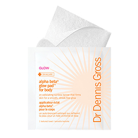 Alpha Beta Glow Pad for Body | Dr. Dennis Gross | b-glowing