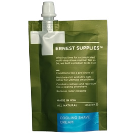 Cooling Shave Cream | Ernest Supplies | b-glowing