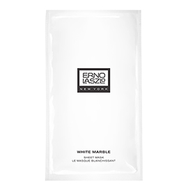 White Marble Sheet Mask | ERNO LASZLO | b-glowing
