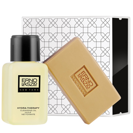 Hydra-Therapy Double Cleanse Travel Set | ERNO LASZLO | b-glowing