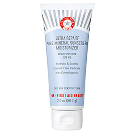Ultra Repair® Pure Mineral Sunscreen Moisturizer SPF 40 | First Aid Beauty | b-glowing