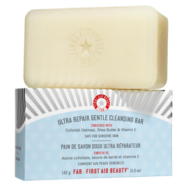 Ultra Repair Gentle Cleansing Bar w/ FAB Antioxidant Booster | First Aid Beauty | b-glowing