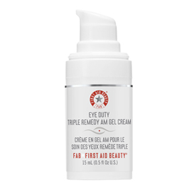 Eye Duty Triple Remedy A.M. Gel Cream | First Aid Beauty | b-glowing