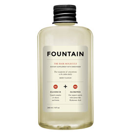 The Hair Molecule | Fountain | b-glowing