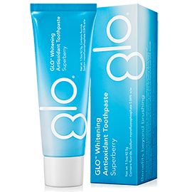 GLO Whitening Antioxidant Toothpaste - Travel Size | GLO Science | b-glowing