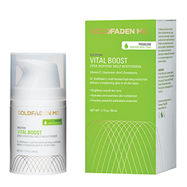 Vital Boost - Even Skintone Daily Moisturizer | Goldfaden MD | b-glowing