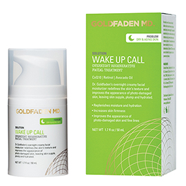 Wake Up Call - Overnight Regenerative Facial Treatment | Goldfaden MD | b-glowing