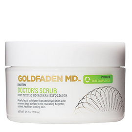 Doctor's Scrub - Ruby Crystal Microderm Exfoliator | Goldfaden MD | b-glowing