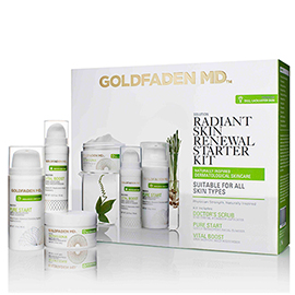 Radiant Renewal Starter Kit | Goldfaden MD | b-glowing