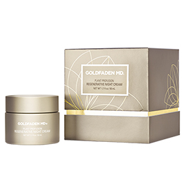 Plant Profusion Regenerative Night Cream | Goldfaden MD | b-glowing
