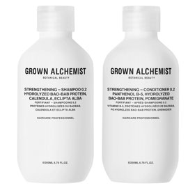 Strengthening Haircare Twin Set | Grown Alchemist | b-glowing