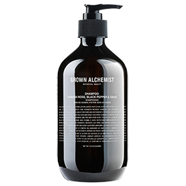 Shampoo: Damask Rose, Black Pepper & Sage | Grown Alchemist | b-glowing