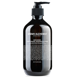 Hand Wash: Sweet Orange, Cedarwood & Sage | Grown Alchemist | b-glowing