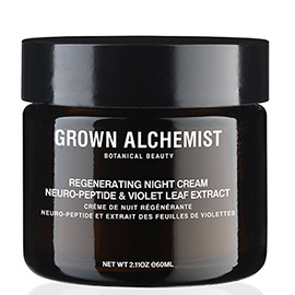 Regenerating Night Cream: Neuro-Peptide & Violet Leaf Extract - 60ml | Grown Alchemist | b-glowing