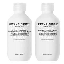 Frizz-Reduction Haircare Twin Set | Grown Alchemist | b-glowing
