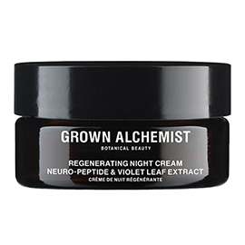 Regenerating Night Cream: Neuro-Peptide & Violet Leaf Extract - 40ml | Grown Alchemist | b-glowing