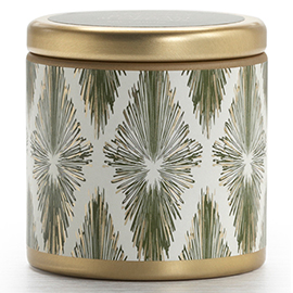 Balsam and Cedar Holiday Mini Pillow Tin Candle