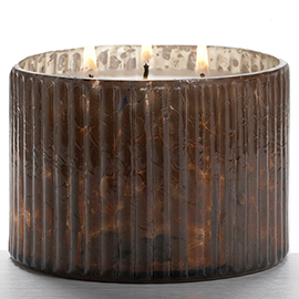 Woodfire 3-Wick Mercury Candle