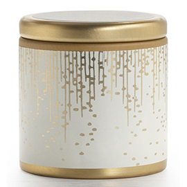 Gilded Amberleaf Holiday Mini Pillow Tin Candle