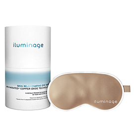 Skin Rejuvenating Eye Mask with Patented Copper Technology | Iluminage | b-glowing