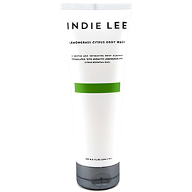 Lemongrass Citrus Body Wash | Indie Lee | b-glowing