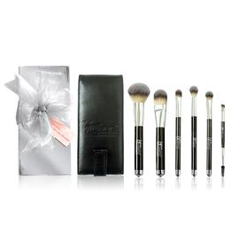 Heavenly Luxe™ 6-Pc Brush Set with Travel Case