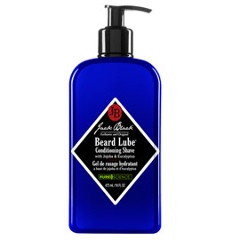 Beard Lube Conditioning Shave | Jack Black | b-glowing