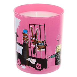 Pink Perfumed Candle | Jean-Michel Basquiat | b-glowing