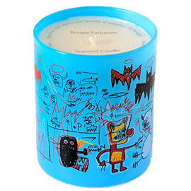 Basquiat Blue Perfumed Candle | Jean-Michel Basquiat | b-glowing