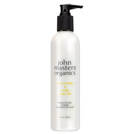 Blood Orange & Vanilla Body Milk | John Masters Organics | b-glowing