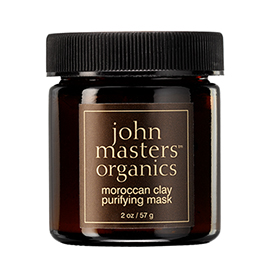 Moroccan Clay Purifying Mask | John Masters Organics | b-glowing