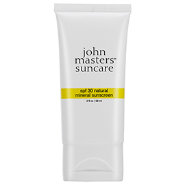 Natural Mineral Sunscreen SPF 30 | John Masters Organics | b-glowing