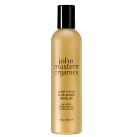 John Masters Organics Sweet Orange and Silk Protein Styling Gel | John Masters Organics | b-glowing