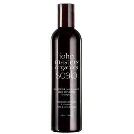 Spearmint & Meadowsweet Scalp Stimulating Shampoo | John Masters Organics | b-glowing