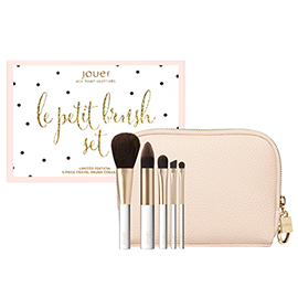 Le Petite Brush Set | Jouer Cosmetics | b-glowing