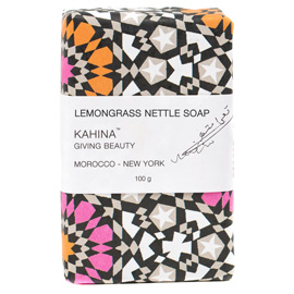 Kahina Lemongrass Nettle Soap | Kahina Giving Beauty | b-glowing