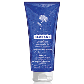 Floral Gel Eye Make-Up Remover with Soothing Cornflower - 100 ml