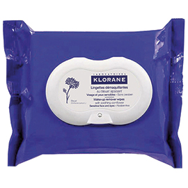 Make-Up Remover Biodegradable Wipes with Soothing Cornflower | Klorane | b-glowing