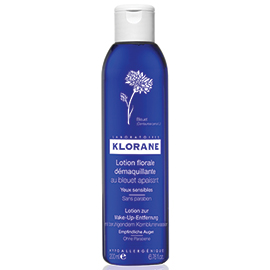 Floral Lotion Eye Make-Up Remover with Soothing Cornflower - 200 ml | Klorane | b-glowing