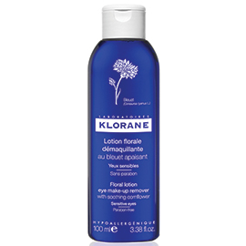 Floral Lotion Eye Make-Up Remover with Soothing Cornflower - 100 ml