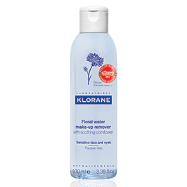Floral Water Make-Up Remover with Soothing Cornflower | Klorane | b-glowing