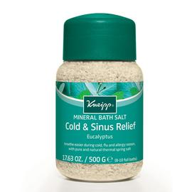 Cold & Sinus Relief Mineral Bath Salt | Kneipp | b-glowing