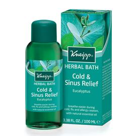 Cold & Sinus Relief Herbal Bath | Kneipp | b-glowing