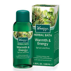 Warmth & Energy Herbal Bath | Kneipp | b-glowing
