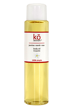 Organic Jasmine + Neroli Body Oil | ko denmark | b-glowing