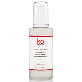 Anti-aging Jasmine Neroli Rose Face Cream Cleanser | ko denmark | b-glowing