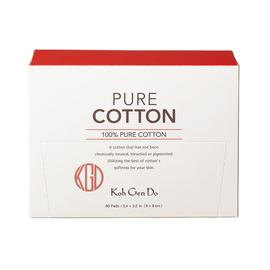 Pure Cotton - 60 Pads | Koh Gen Do | b-glowing